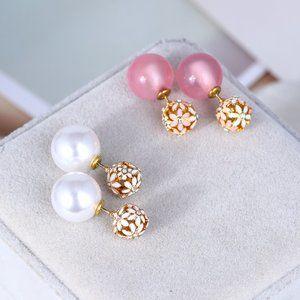 Kate Spade Cutout Flower Earrings